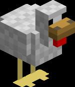 Майнкрафт курица