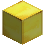 Золотой блок в майнкрафт