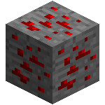 Красная руда в майнкрафт