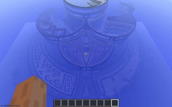 Карта Lumina Nocturnale (Подводный Город)