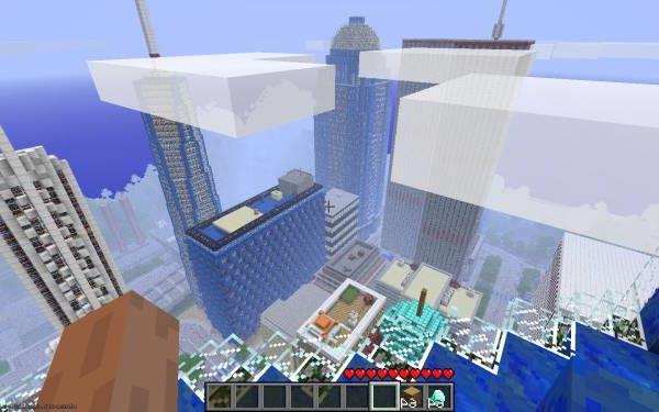 Карта Vecter City