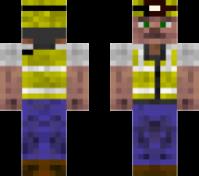 Скин шахтёра