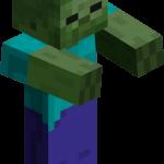 Зомби в майнкрафт (minecraft)