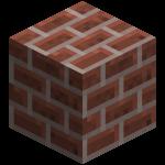 Кирпичный блок в майнкрафт (minecraft)