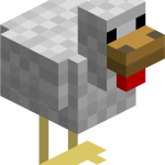 Майнкрафт курица (minecraft)