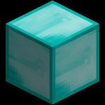 Алмазный блок в майнкрафт (minecraft)