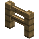 Забор в майнкрафт (minecraft)
