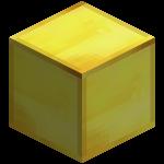 Золотой блок в майнкрафт (minecraft)