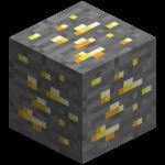 Золотая руда в майнкрафт (minecraft)