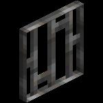 Железная решётка в майнкрафт (minecraft)