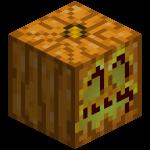 Светильник Джека в майнкрафт (minecraft)