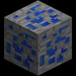 Лазуритовая руда в майнкрафт (minecraft)
