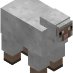 Овца в майнкрафт (minecraft)