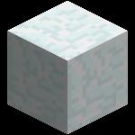 Снежный блок в майнкрафт (minecraft)
