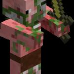 Зомби-свиночеловек в майнкрафт (minecraft)