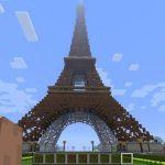 Карта Эйфелева башня