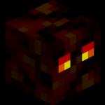 Лавовый куб в майнкрафт (minecraft)