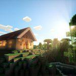 Minecraft и шейдеры, реализм графики!