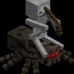 Скелет наездник в майнкрафт (minecraft)