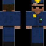 Скин полицейского