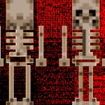 Скин скелета