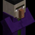 Ведьма в майнкрафт (minecraft)